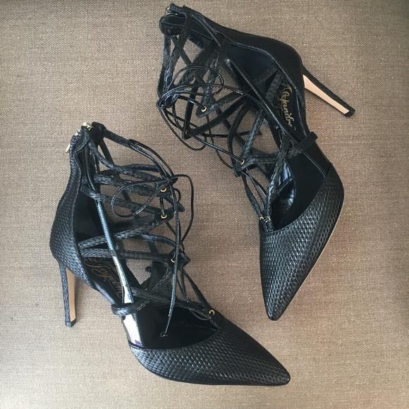 Alejandro Ingelmo Shoes - Alejandro Inglemo Black Specchio Pump 36.5